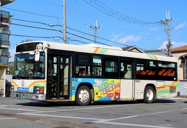 神戸200か・615 12-551