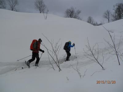 縮小2登山開始
