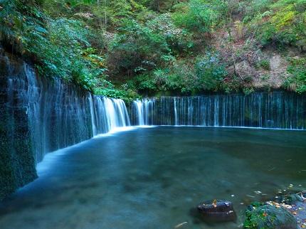 白糸の滝@軽井沢_その1