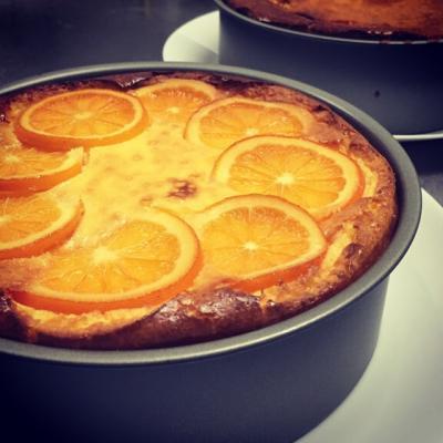オレンジチーズケーキ2015
