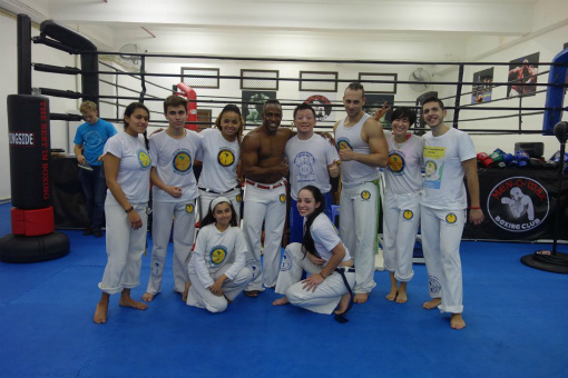 Axe Capoeira Macau のみなさんで