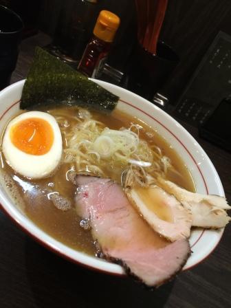 醤油ラーメン(水輝)