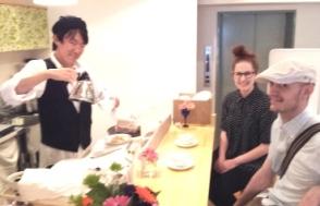 キッチンとHelenとわっさん
