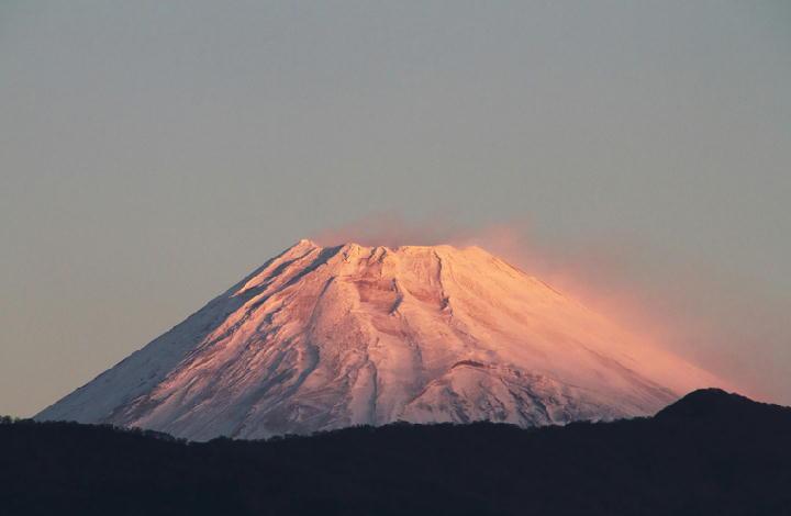 11月27日 6-32 今朝の富士山-1