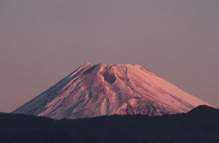 11月28日 6-28 今朝の富士山