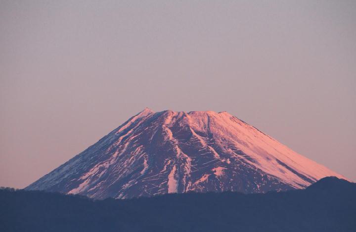 12月1日 6-32 今朝の富士山