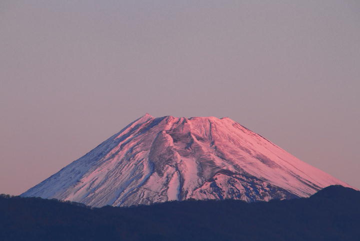 12月5日 6-34 今朝の富士山
