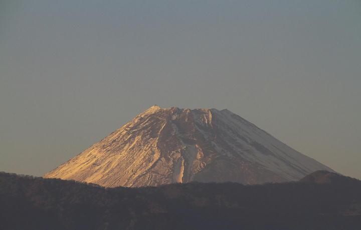 _12月8日 16-10 今日の富士山