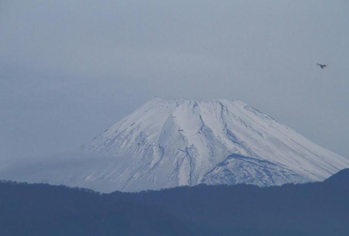 _12月15日 今朝の富士山