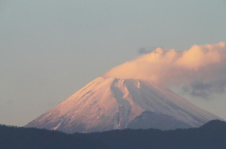 12月16日 16-26 今日の富士山