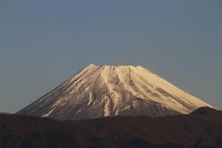 12月17日 7-13 今朝の富士山