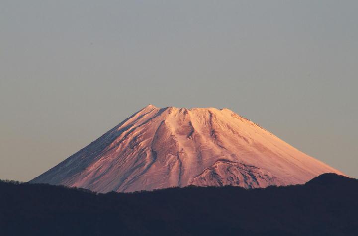12月18日 6-50 今朝の富士山-33
