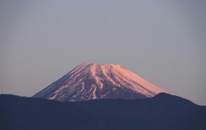28年1月1日 6-51 今朝の富士山