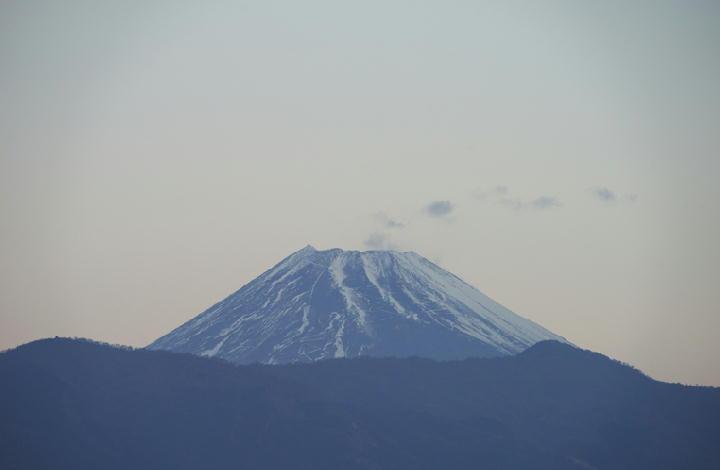 1月3日 6-53 今朝の富士山