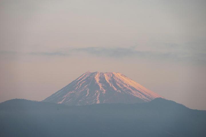 1月4日 今朝の富士山-6-28