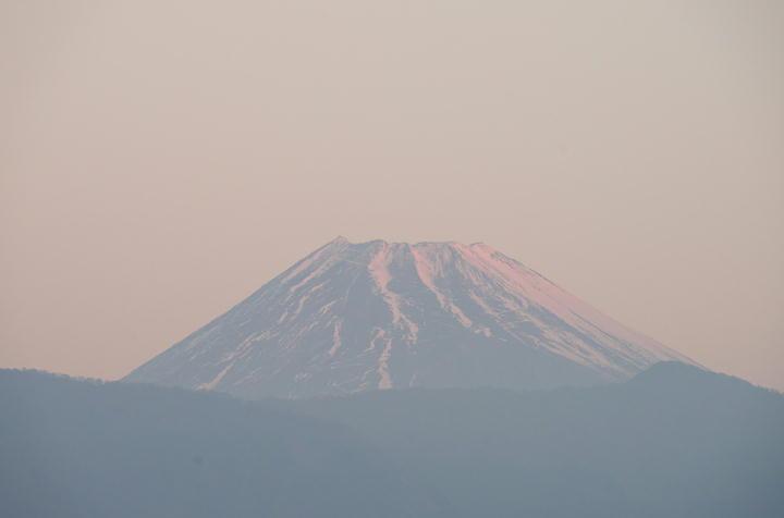 1月5日 6-53 今朝の富士山