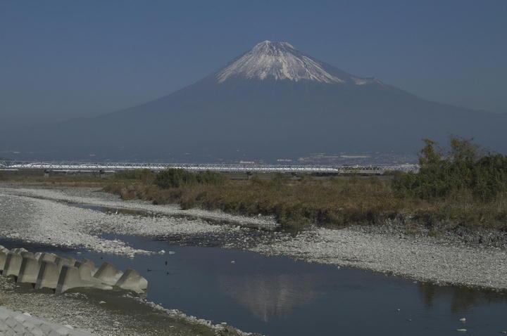 富士川河川敷