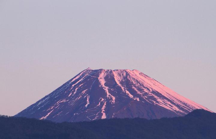 1月14日 6-51 今朝の富士山