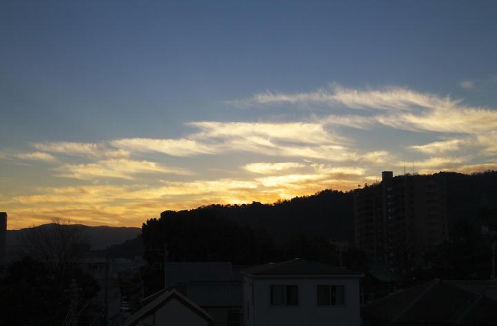 _1月14日 7-08 東の空