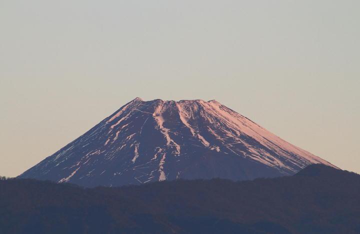 1月15日 6-59 今朝の富士山