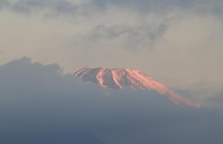 1月16日 6-59 今朝の富士山