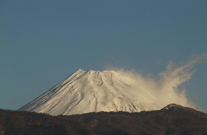 1月19日 7-19 今朝の富士山-2