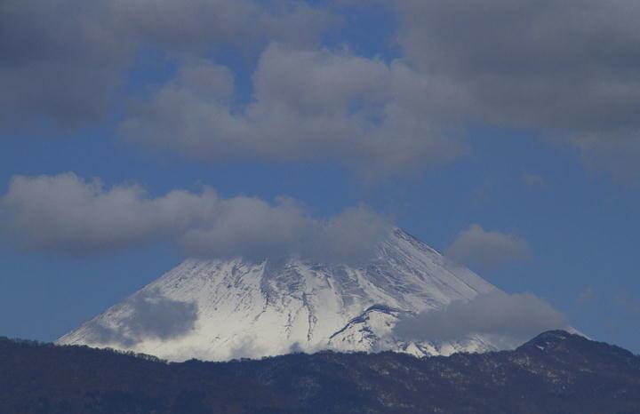 1月21日 PM 0-19 今日の富士山