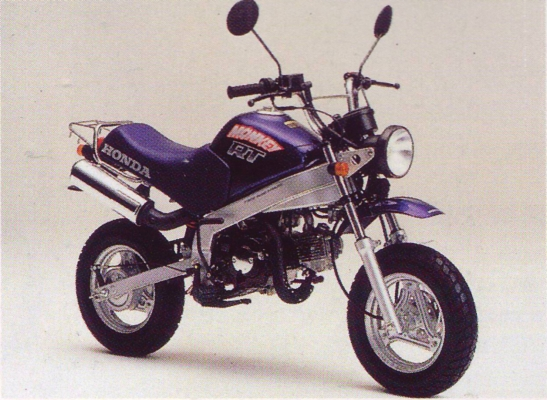honda monkey-rt 88 2