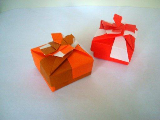 Origami box-1