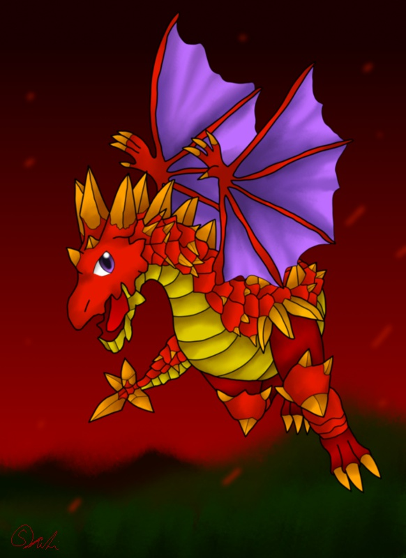 Dragon-Red 150915