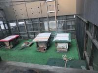屋上の巣箱