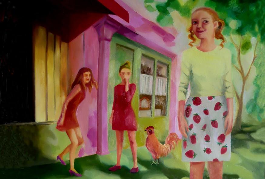 苺スカート