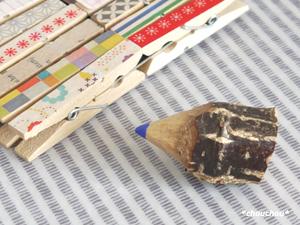 Riさん 素敵便 鉛筆ピン