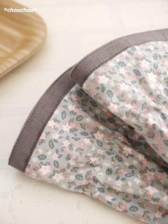 アームカバー リンゴの花 裾