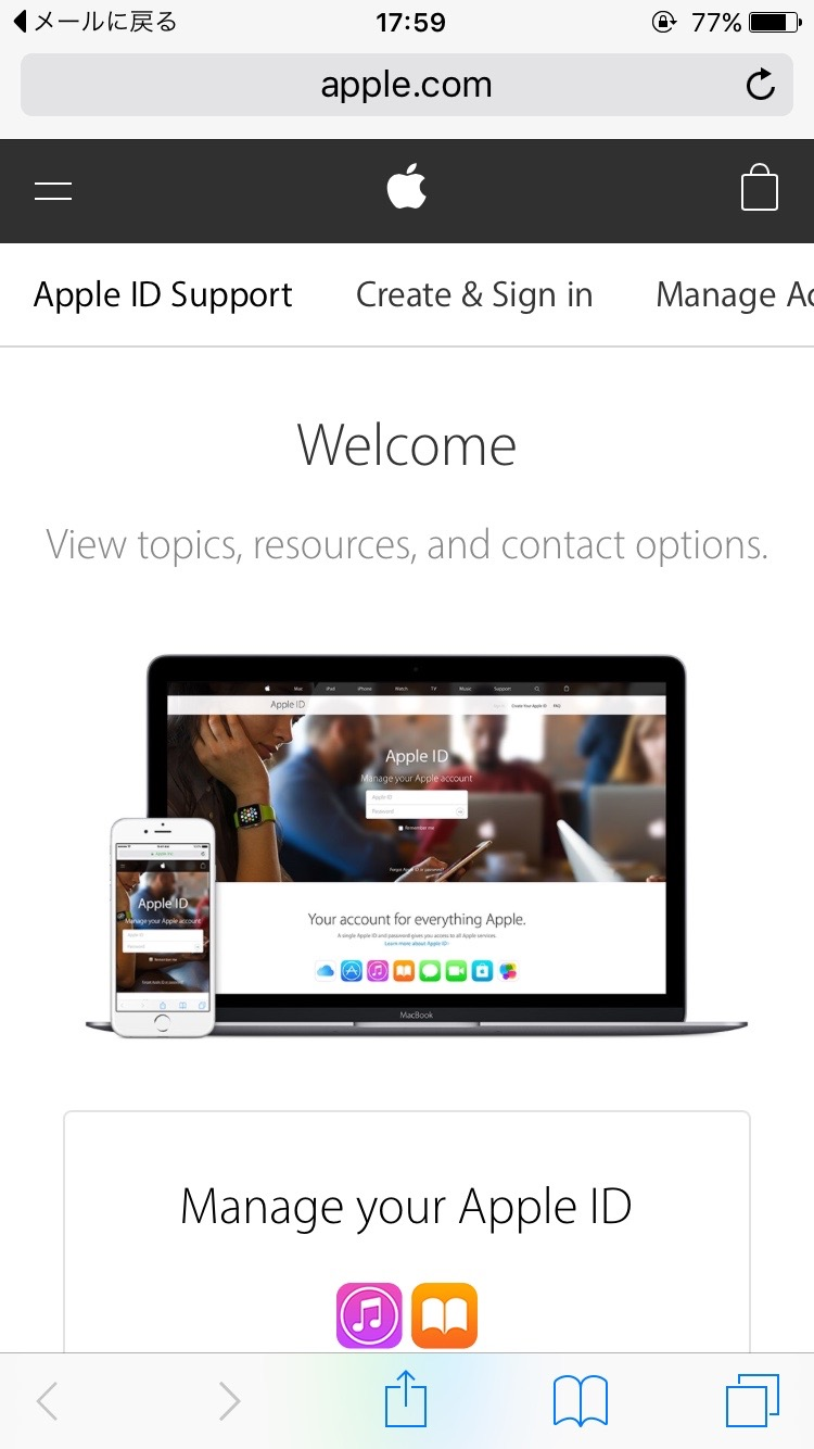 迷惑メール Apple 3