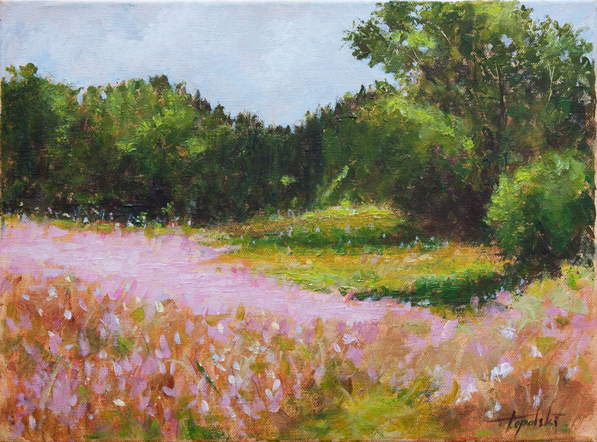 Pink-Landscape-Flowers-Acrylic-and-Oil-painting-on-canvas-by-topalski20151221.jpg