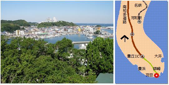 羽豆神社マップ