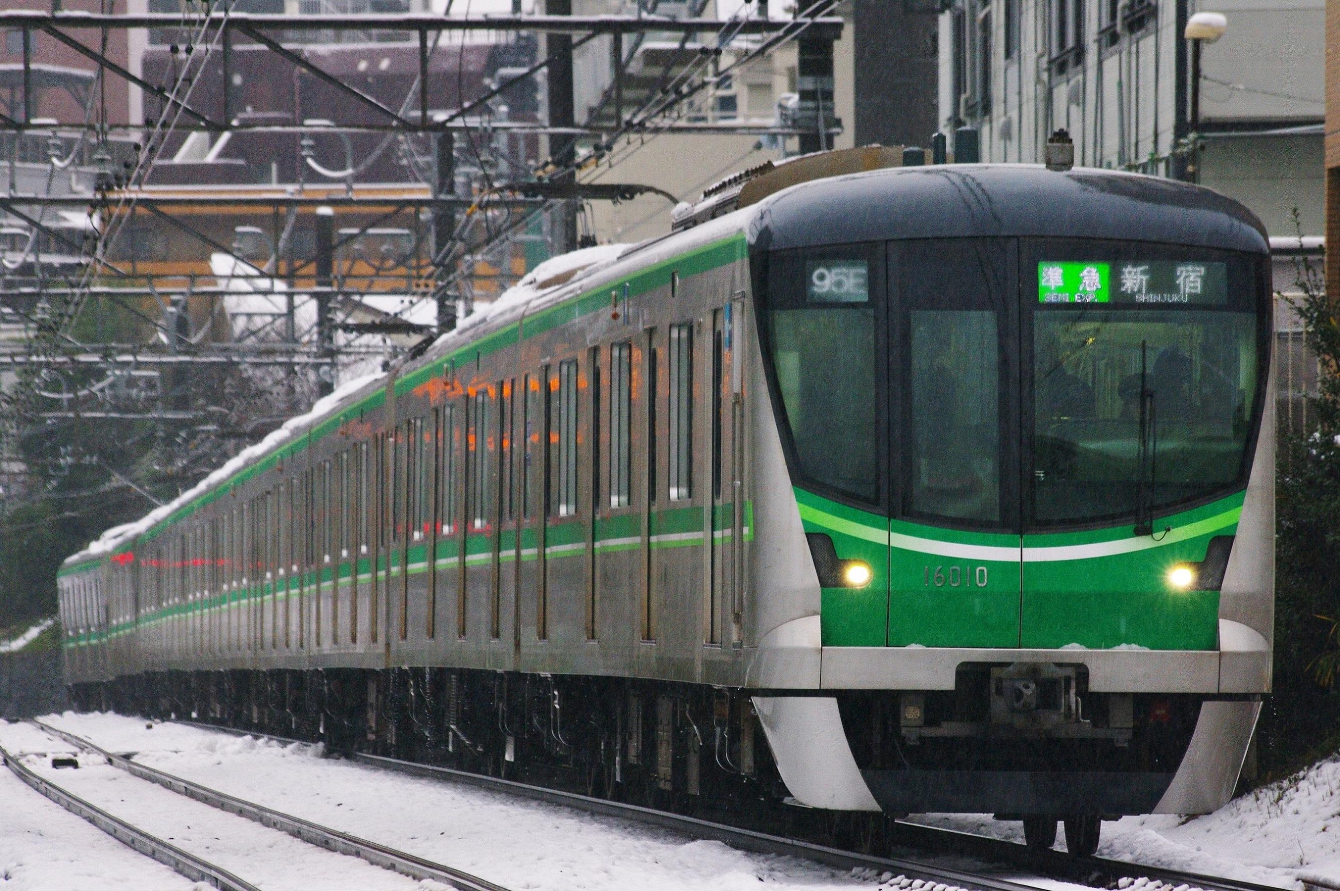 2015/01/18「95E代走準急新宿行」