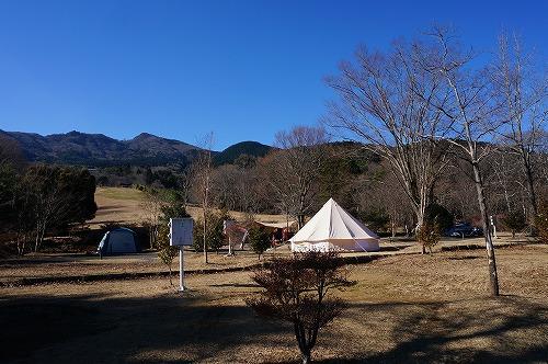 キャンプ朝3