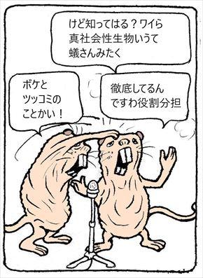 ハダカデバネズミ③