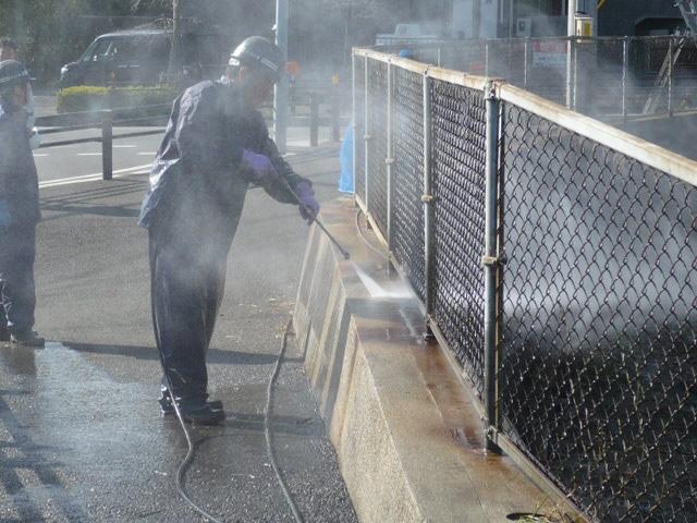 溜池延命化 洗浄2