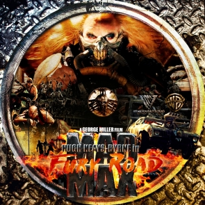 MAD MAX FURY ROAD DVD LABEL