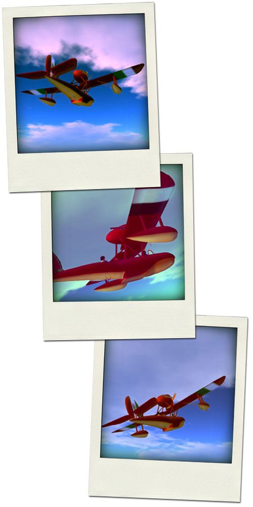 Corvo Rosa飛行風景