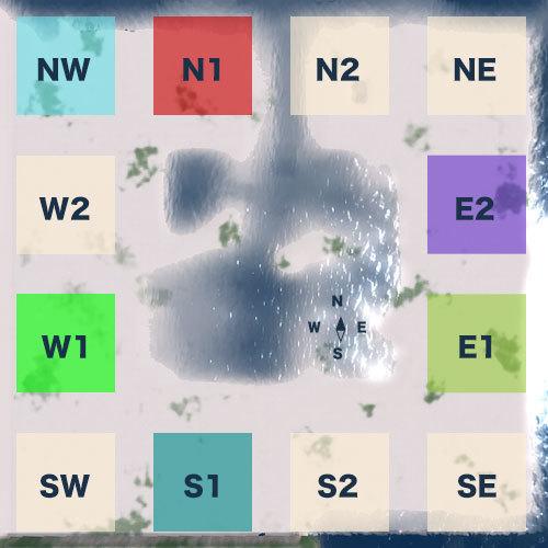 東銀座シム(HIGASHI GINZA SIM)区画図