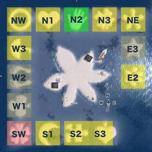 天王洲シム(TENNOZ SIM)区画図