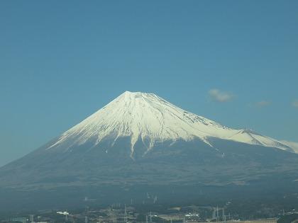 富士山 2016年2月11日