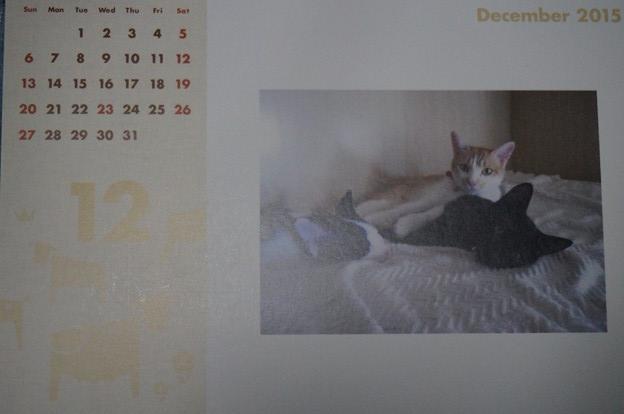2015.12のカレンダー