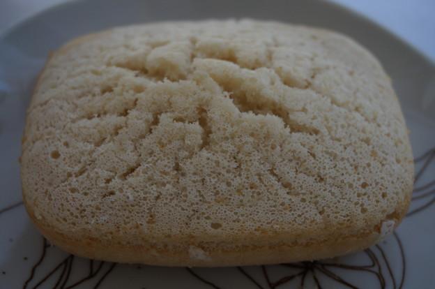 チーズ蒸しパン風