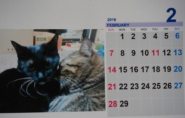 2016.2の萩&虎徹カレンダー