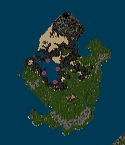 海戦ミニゲーム初期配置
